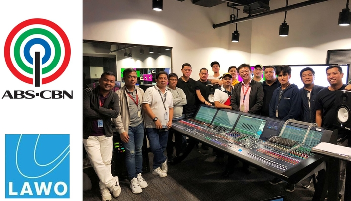Philippines' ABS-CBN upgrades with Lawo mc²56 consoles