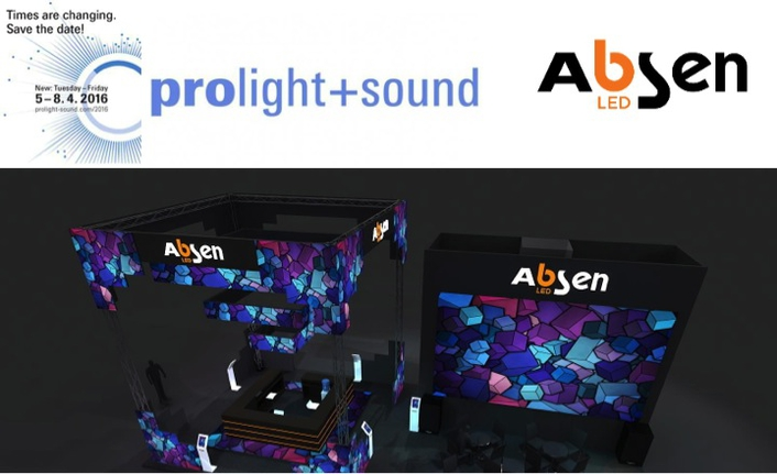 Absen to focus on rental and 4K products at ProLight + Sound 2016