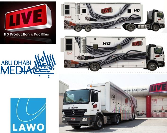 Abu Dhabi's LIVE broadcasts live with five new Lawo V__pro8