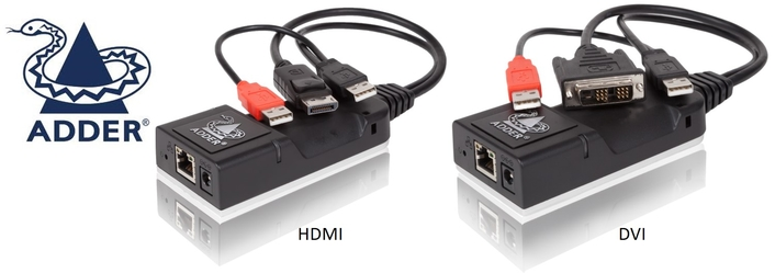 Adder Technology unveils world's smallest high performance KVM transmitter