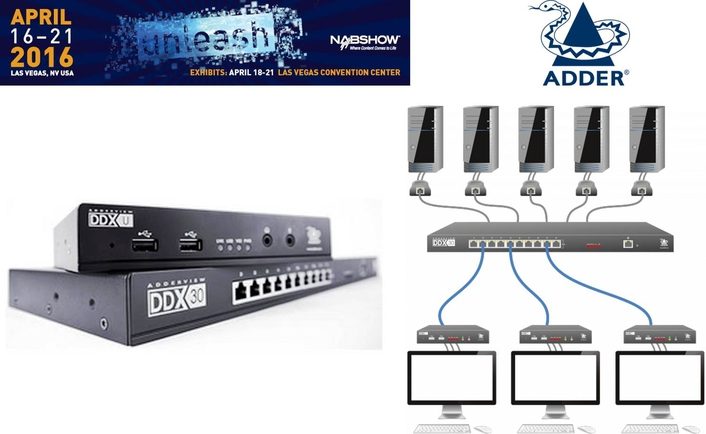 Adder to launch new products at NAB 2016