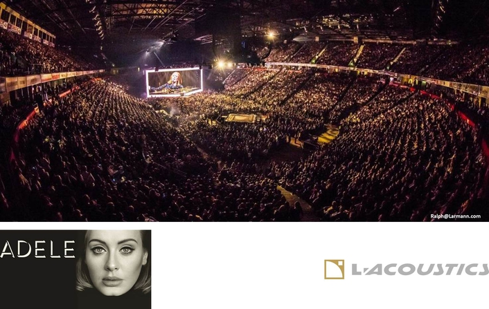 L-Acoustics Says Hello to the World's Arenas with Adele