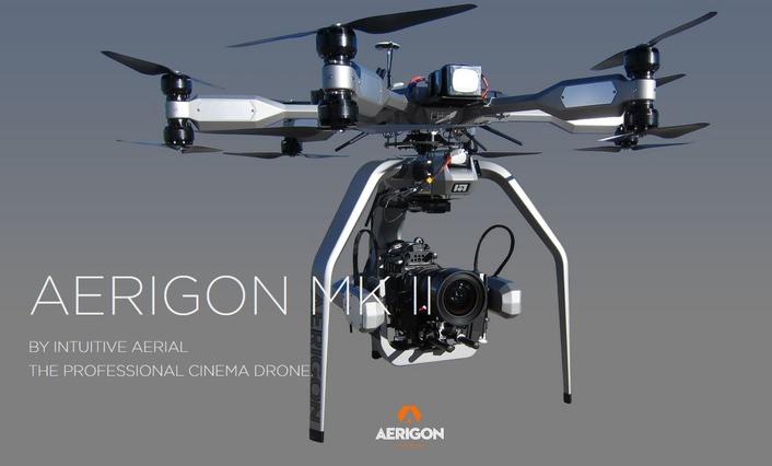 AERIGON Mk II, the next generation professionalremote piloted aerial camera platform