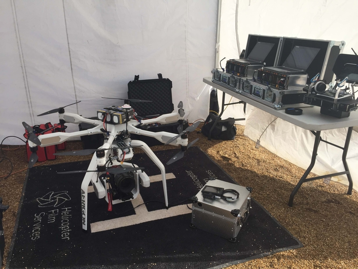 AERIGON UAV Flies Over London in Pursuit of James Bond in Spectre