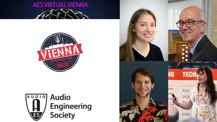 Keynotes and Heyser Presentation Announced for AES Virtual Vienna Convention