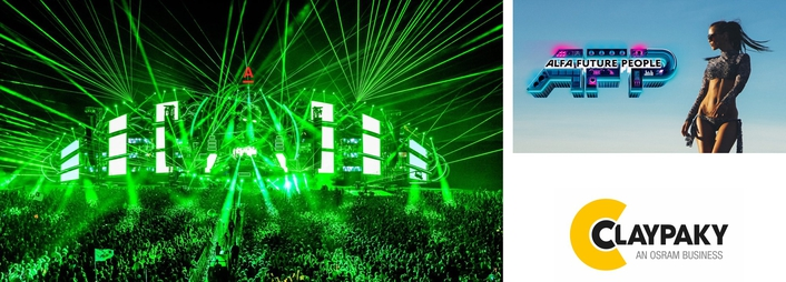 Claypaky praised for durability, output and versatility at innovative EDM festival