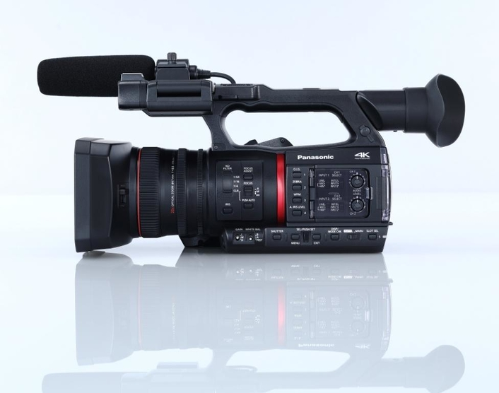 4K HANDHELD CAMCORDER PROMISES HIGH QUALITY IMAGES AND ADVANCED CONNECTIVITY