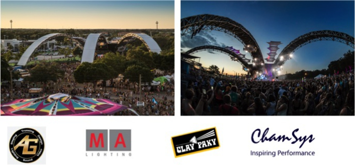 AG Production Services Sets The Stages For Sunset Music Festival