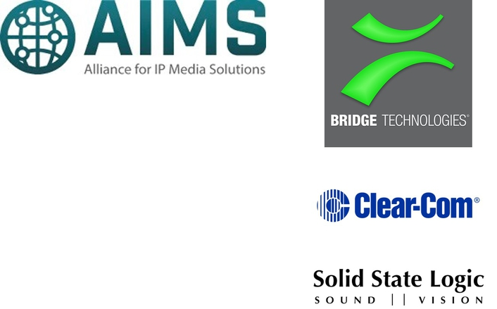 Bridge Technologies, Clear-Com, and Solid State Logic Join AIMS