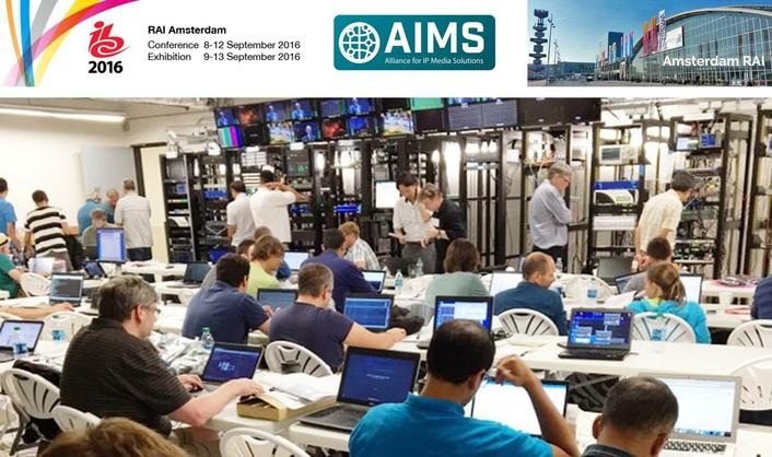 AIMS AT IBC2016
