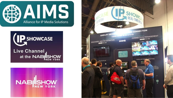 IP Showcase Channel at 2020 NAB Show New York is Live since yesterday