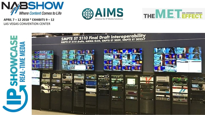 AIMS at the 2018 NAB Show