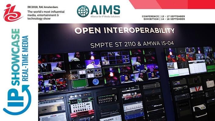 AIMS at IBC2018