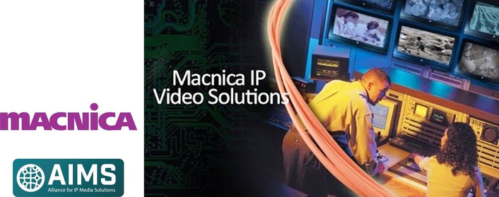 Macnica supports standards-based solutions for transporting video over IP networks