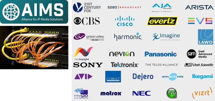 Seven technology companies at the front line of media innovation join AIMS