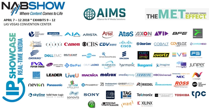 AIMS Members to Give More Than 30 Presentations at the 2018 NAB Show