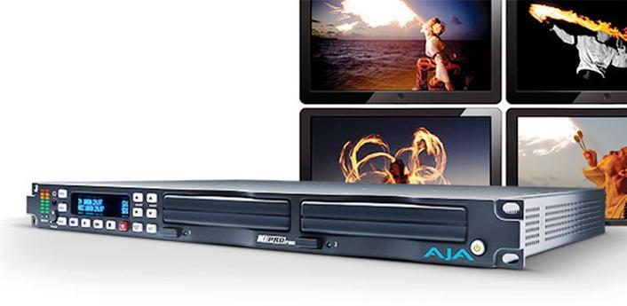 AJA Announces 50% Price Drop for Ki Pro Rack