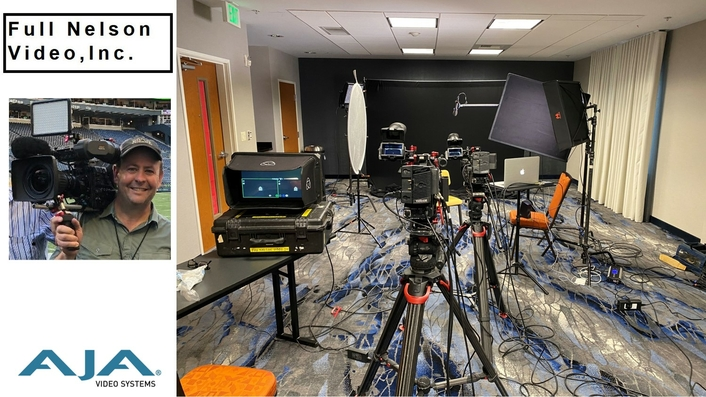 Full Nelson Video, Inc. Streamlines Remote Interview Production with AJA U-TAP
