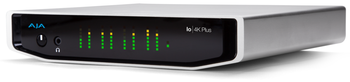 AJA Releases Io 4K Plus with Thunderbolt™ 3 and Desktop Software v14