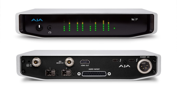 AJA Unveils Io IP with Thunderbolt™ 3 at Inter BEE 2017