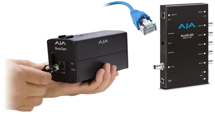 AJA Ships RovoControl v2.0 Software and the RovoRx-SDI Receiver Boosting RovoCam HDBaseT Camera Workflows