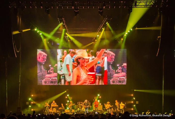 Elite Multimedia provides compelling dimensionality for the Alan Jackson tour