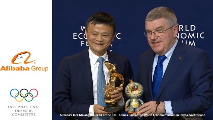 IOC and Alibaba Group launch historic long-term partnership