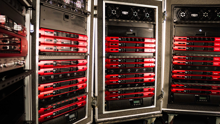 American Mobile has standardized its systems with Focusrite's RedNet as the signal-transport backbone, deployed for remote music production for live broadcast and used extensively for events and festivals from Coachella to Bonnaroo