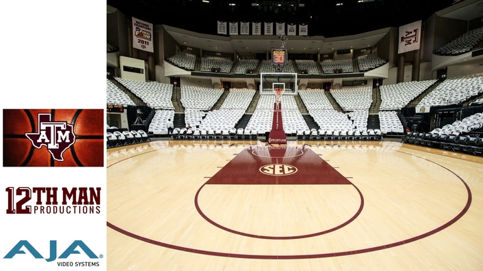 Texas A&M Athletics Enhances the Basketball Fan Experience with AJA RovoCam