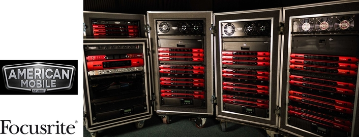 American Mobile Expands Its Focusrite RedNet Arsenal