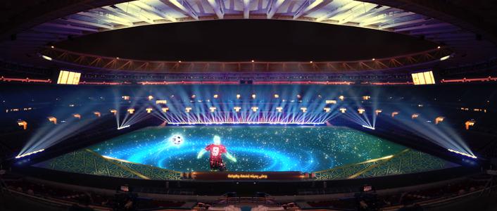 Successful prelude: grandMA3 used for Amir Cup Final 2020 and inauguration of Ahmad Bin Ali stadium in Qatar