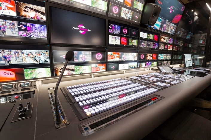 Following the successful deployment of its Millenium Signature 12 (MS12) OB van, AMP VISUAL TV has again invested in Riedel gear to ensure flexible, reliable communications and signal transport within Millenium 6.