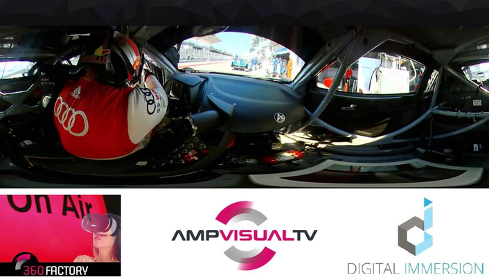 AMP VISUAL TV and DIGITAL IMMERSION have joined forces to create 360 FACTORY, Europe's first company devoted to 360-degree live film production
