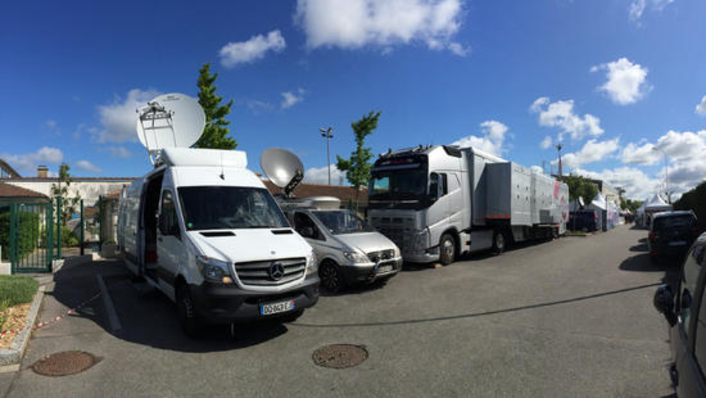 AMP Visual TV Chooses Riedel for New DSNG Production Vans