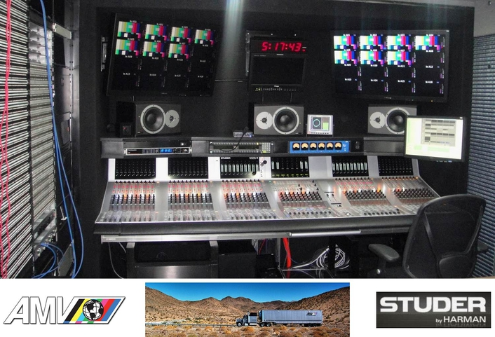 AMV Adds 10th Studer Vista Console to its Lineup with Vista X for New Remote Truck