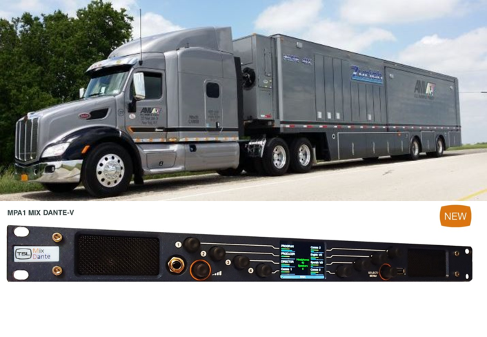 All Mobile Video Soups Up New IP-based Production Truck With  TSL Products' Range of Audio Monitoring Solutions