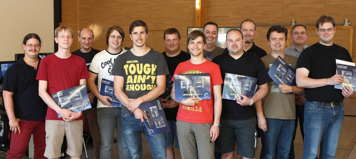 Mid of July there were about 20 event technicians who were certified for the advanced and expert level by LANG ACADEMY.