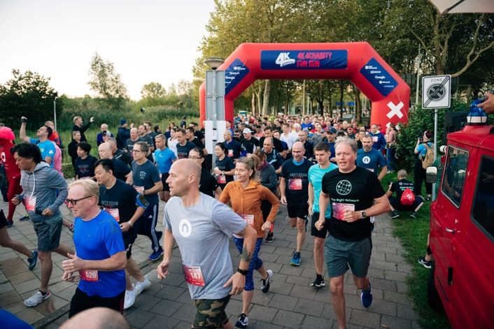 4K 4Charity Run Series Upscales at NAB Show with New 8K Course Option