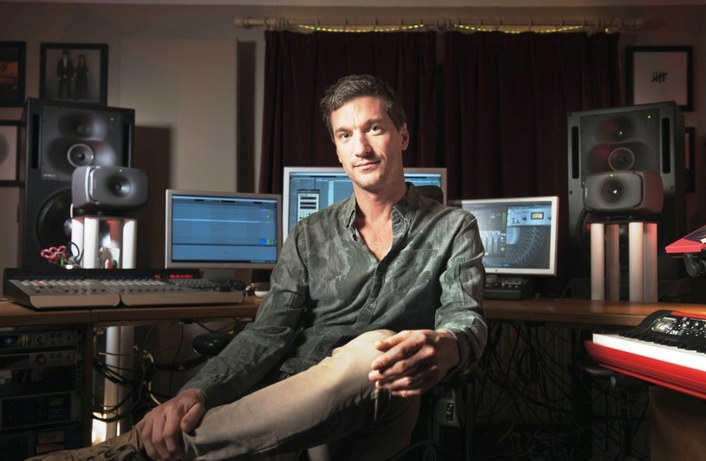 U2 Producer and Lamb Founder Andy Barlow is Cooking with Genelec