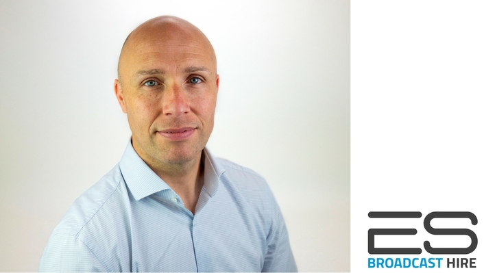 ES Broadcast Hire recruits Andy Scott as General Manager