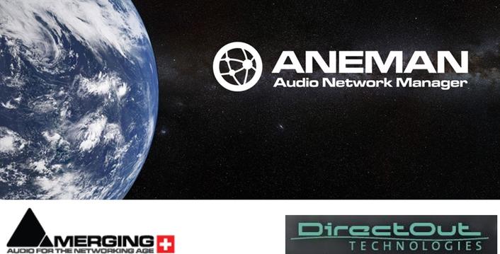 DirectOut announces ANEMAN support for MONTONE.42
