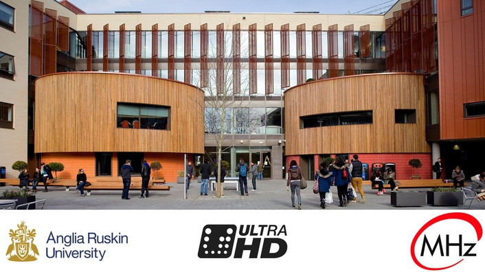 Anglia Ruskin University goes UHD with Megahertz