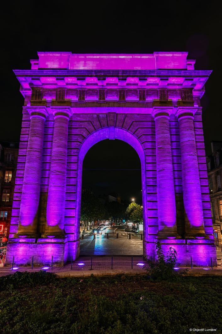 New Anolis Lighting Scheme for the  Porte de Bourgogne