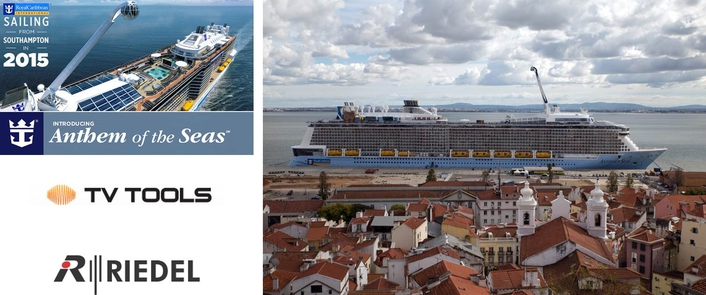 Riedel Solutions Ensure Flexible Routing and Communications Across Anthem of the Seas