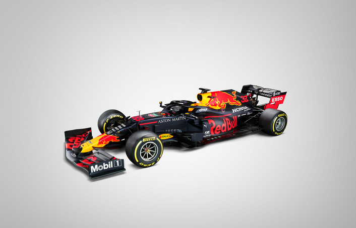 Aston Martin Red Bull Racing unveil the new RB16