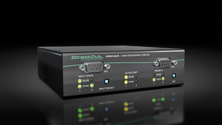 DirectOut relaunches popular EXBOX.BLDS MADI redundancy switch