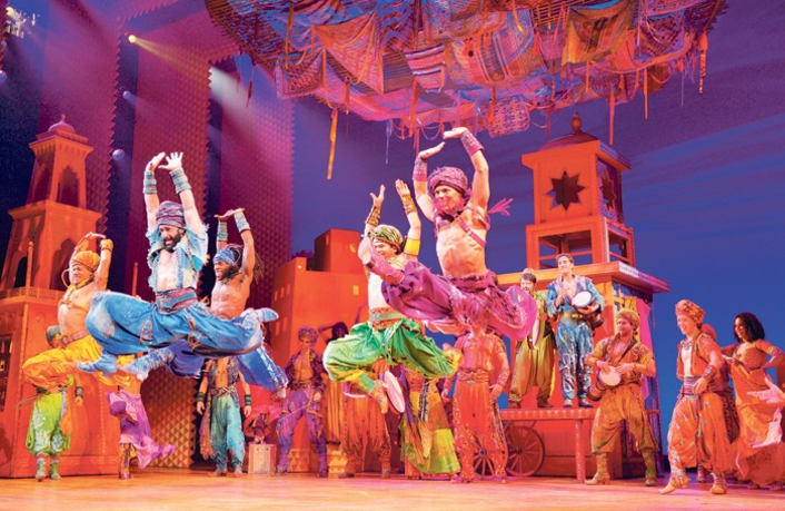 DISNEY'S ALADDIN BRINGS A WHOLE NEW WORLD TO  LONDON'S WEST END - WITH HELP FROM CLEAR-COM