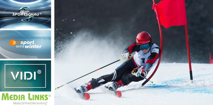 Media Links & VIDI Help Win Viewers for Winter Sports in Germany