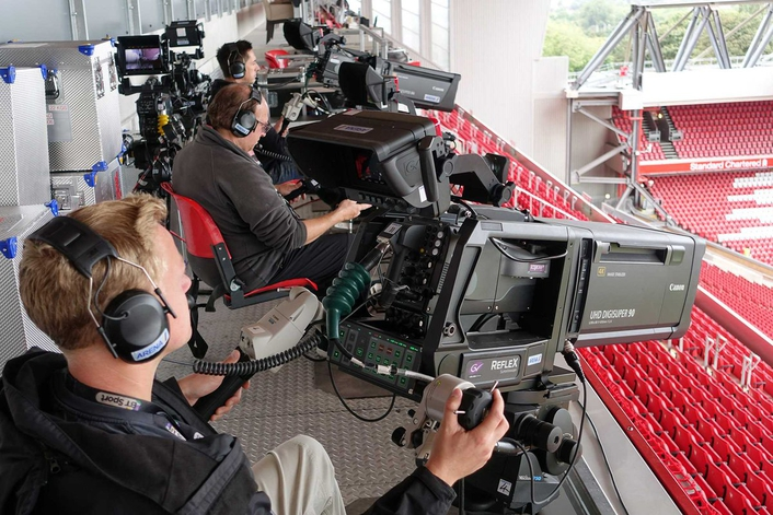 BT Sport Produces World's First All-IP 4K Broadcast with Arena Television Powered by a Suite of Technology from Grass Valley: State-of-the-art OBVan shows that IP is ready for live production