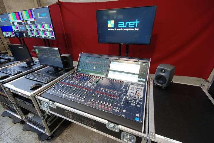 Gulf State Customer Embraces Lawo & RAVENNA IP With 4K OB Truck From ARET